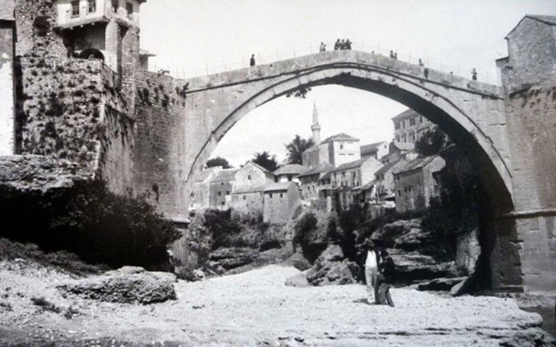 Stari Most in 1896