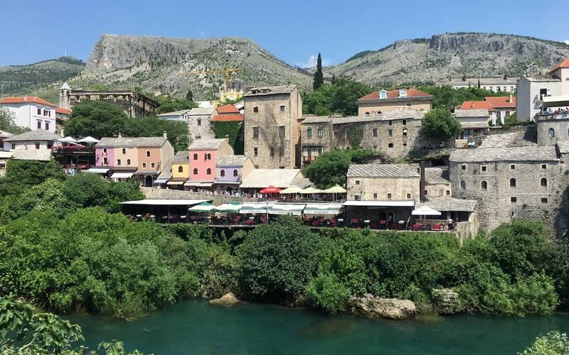 Mostar, near the Neretva