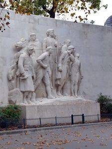 Monument to the glory of the French army