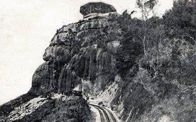 The railway line at the beginning of the 20th century