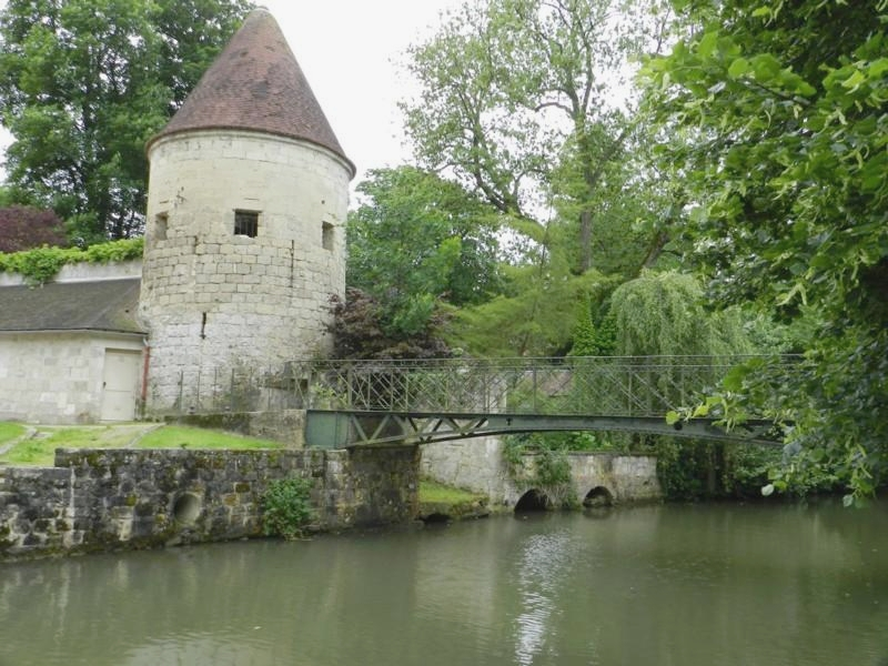 Footbridge of La Ferté Milon