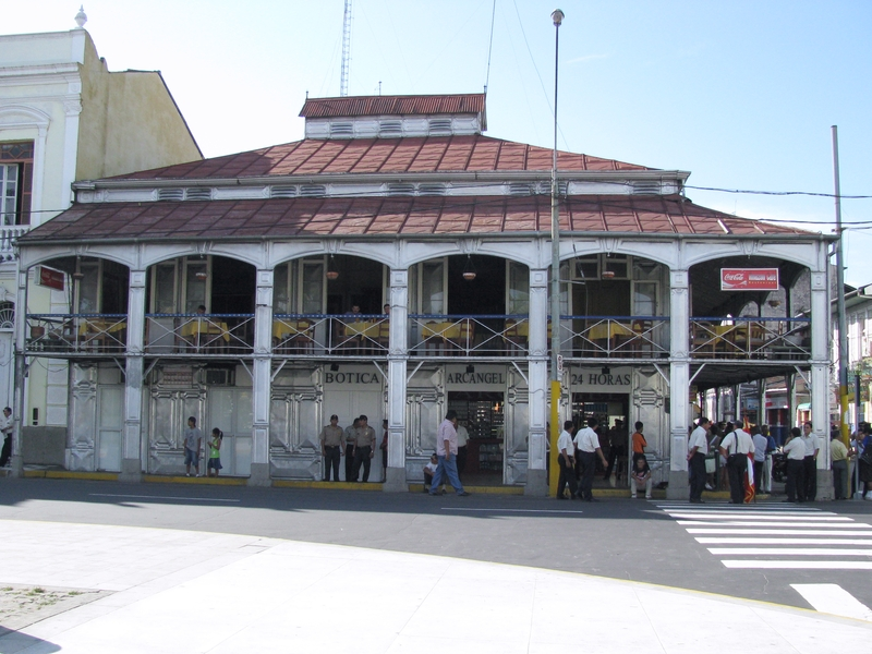 The casa de fierro, in Iquitos (Peru)