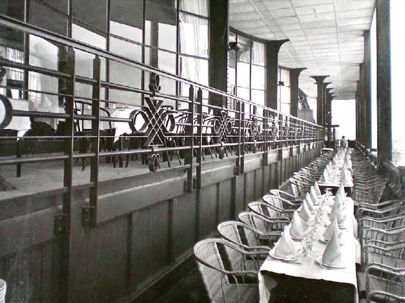 Gallery of the first floor in 1937