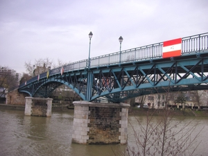 Footbridge Bry-sur-Marne