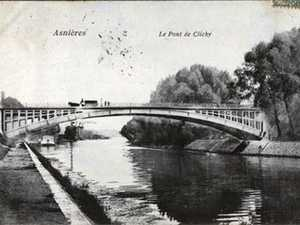 Bridge of Clichy, Hauts de Seine, France