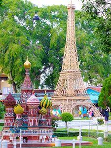 Replica of the Mini Siam park