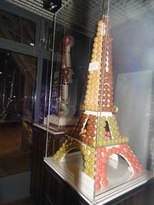 The Eiffel tower in macaroons