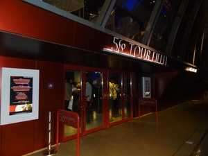 The 58° pavilion entrance
