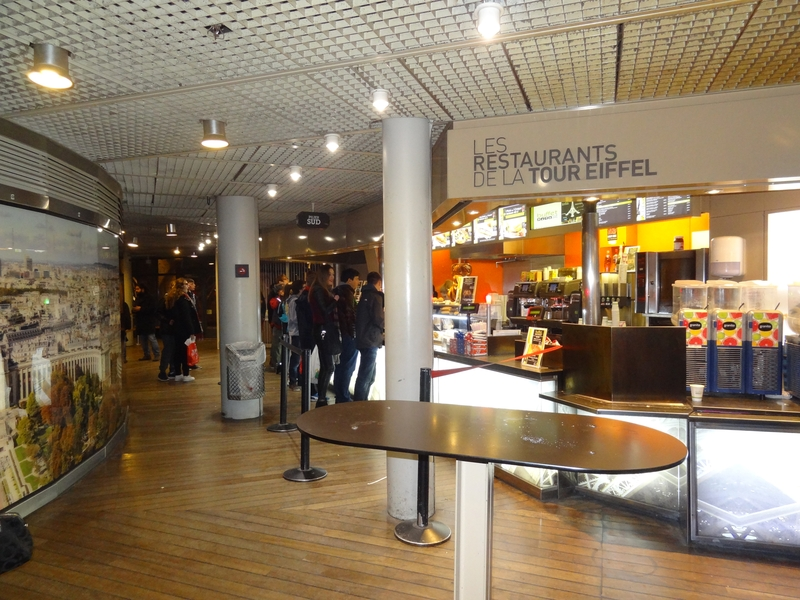 A cafeteria on the second floor