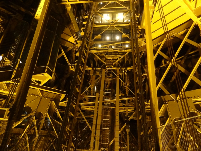 West Elevator Cage