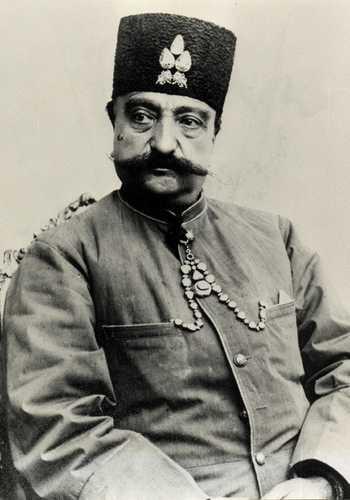 Shah of Iran Nasser-al-Din Shah Qajar