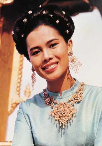 The Thailand Queen Sirikit