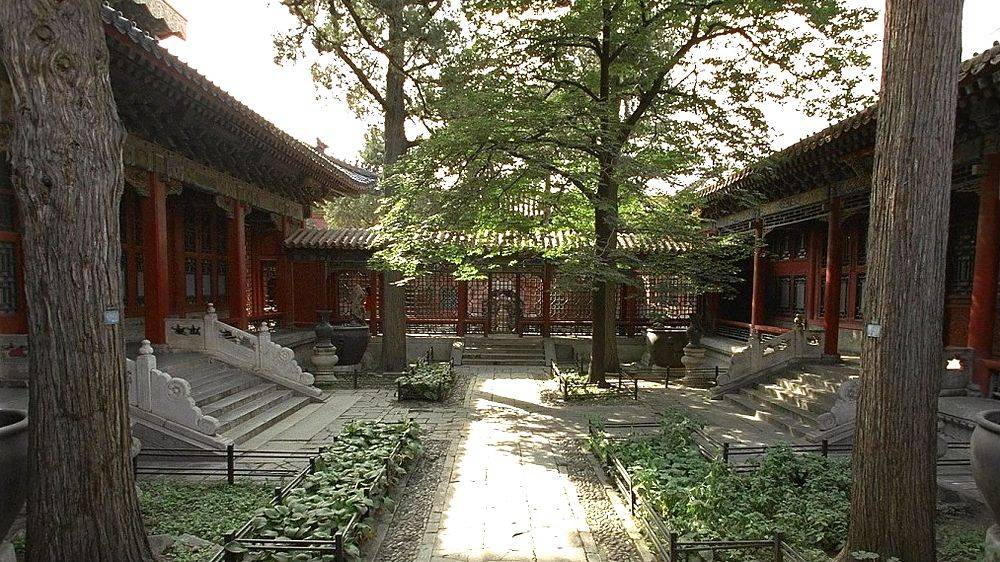 The garden of Qianlong