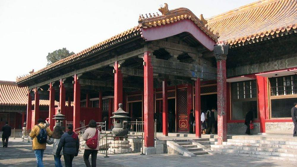 Pavilion of mental cultivation