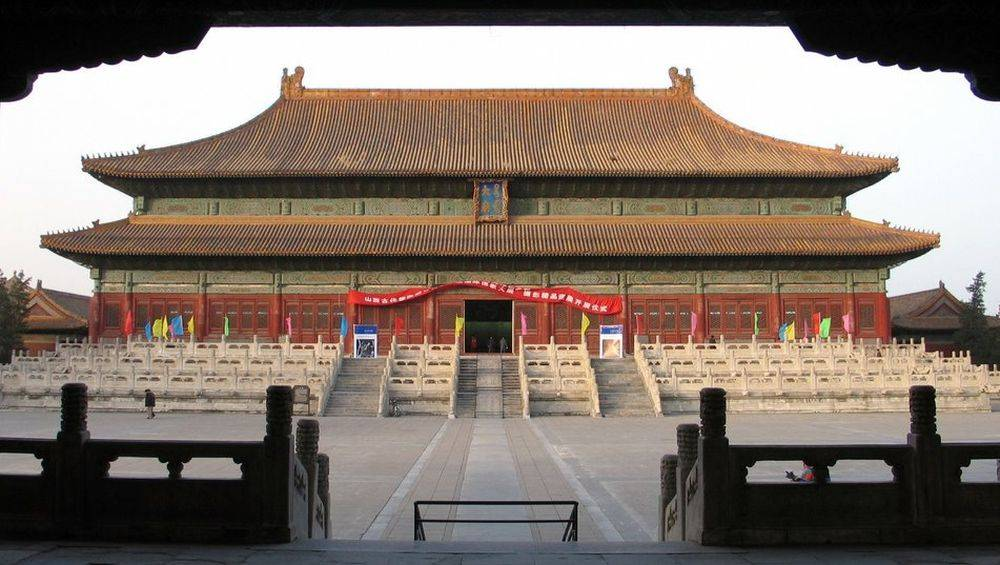 Pavilion of ancestral worship