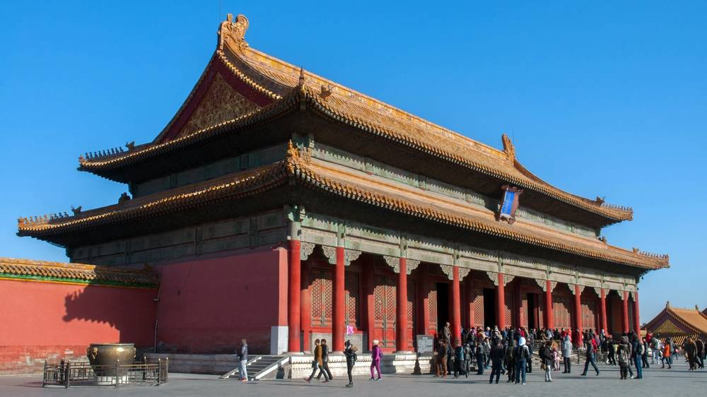 The Palace of Harmony Preserved
