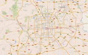 Downtown Beijing