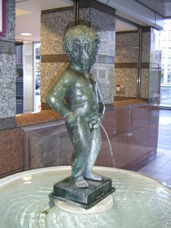 Manneken Pis at Odawara