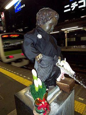 Manneken Pis at Tokyo