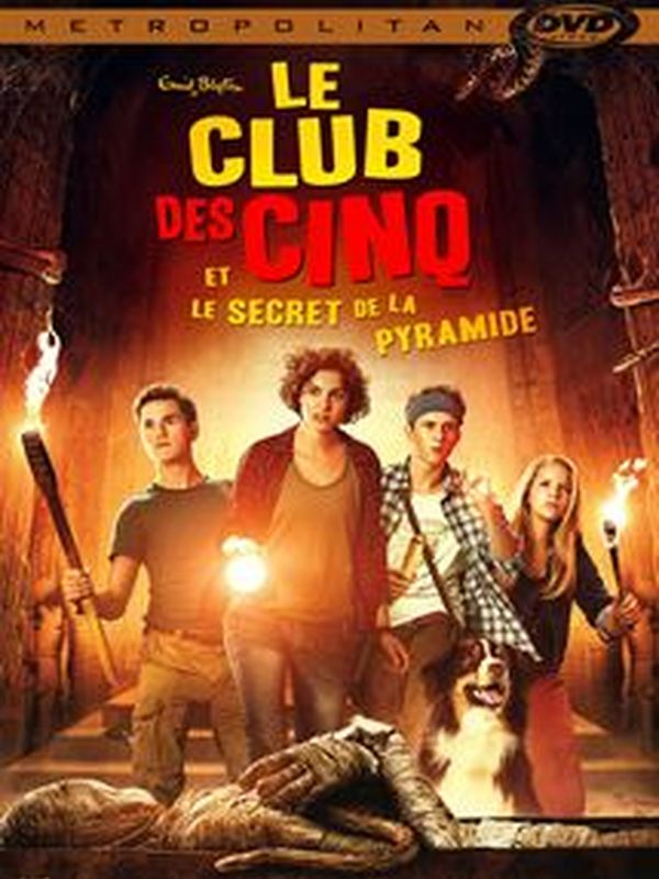 The club of five and the secret of the pyramid
