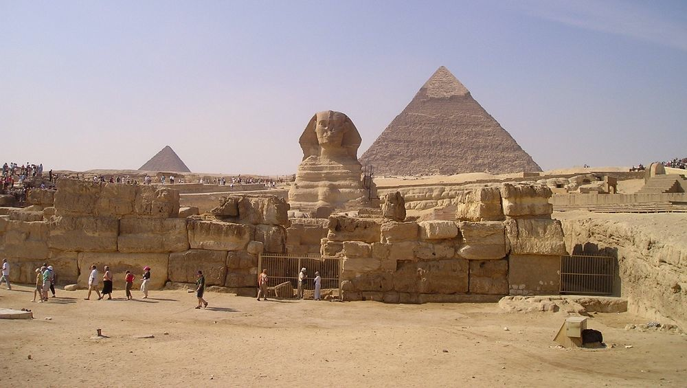 The Temple Of The Great Sphinx