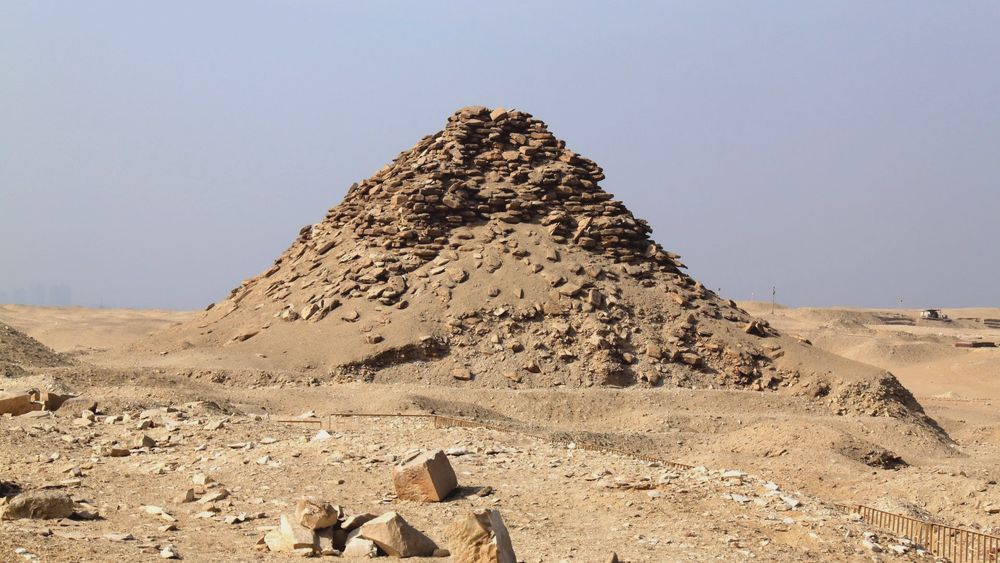 The Pyramid of Userkaf