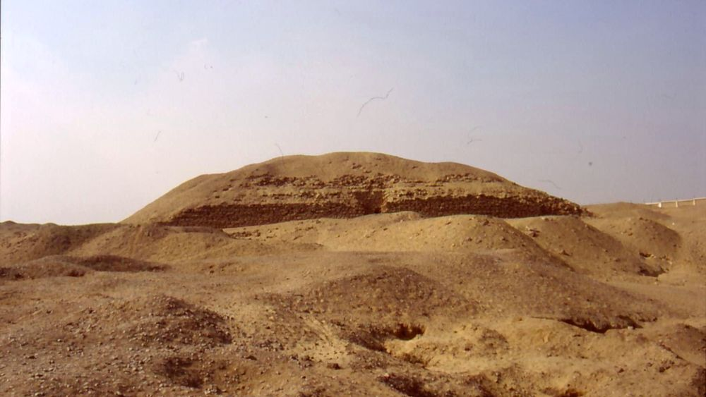 The pyramid of Khaba