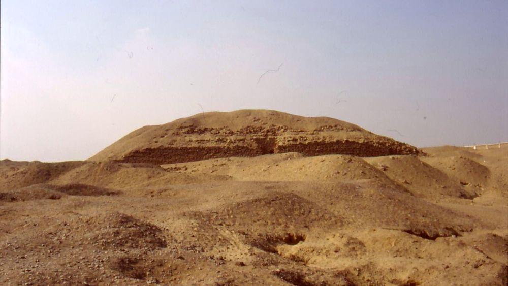 The pyramid of Khaba