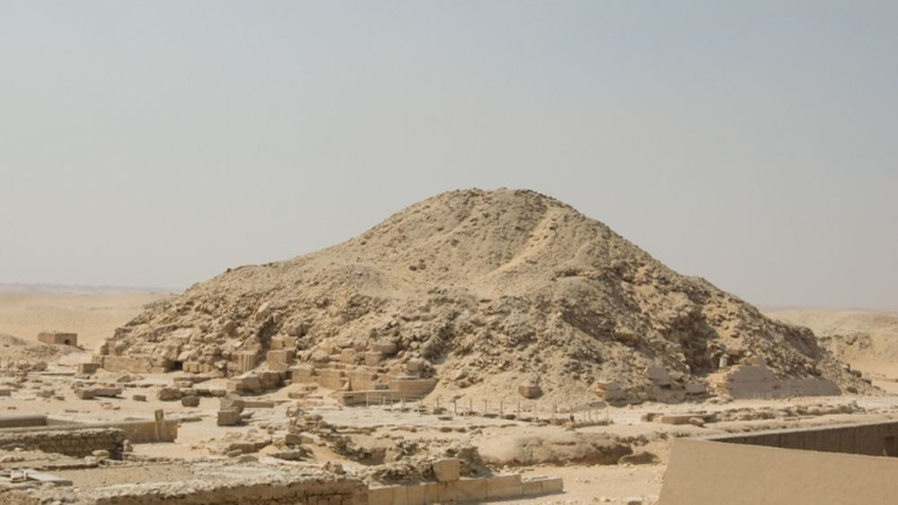 The pyramide of Sekhmekhet
