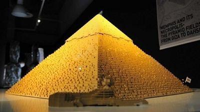 Pyramid in Lego