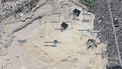 Shape of Giza Plateau
