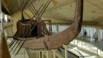 Solar boat of Khufu