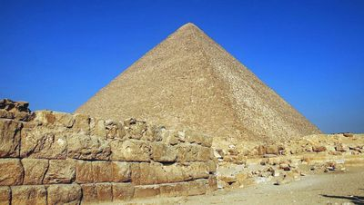The pyramid of Khufu
