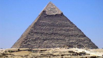 The pyramid of Khafra