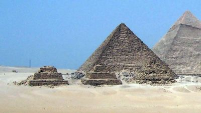 The pyramid of Menkaure