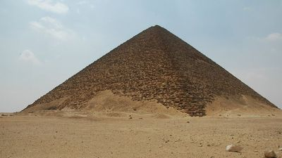 The red pyramid, from Snéfrou