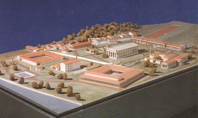 Model of Olympia