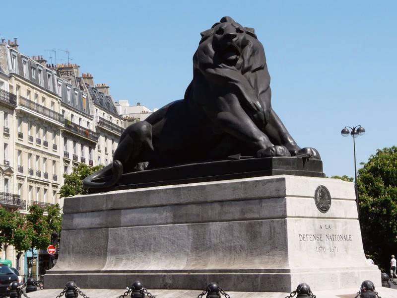 Replica of the Lion of Belfort