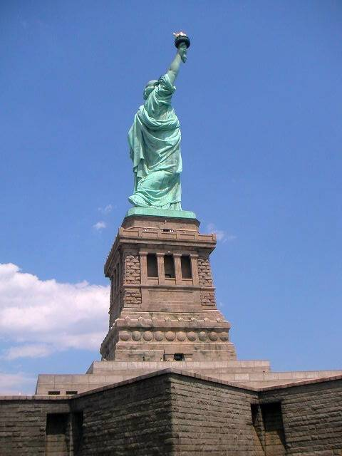 Pedestal of the Statue of Liberty