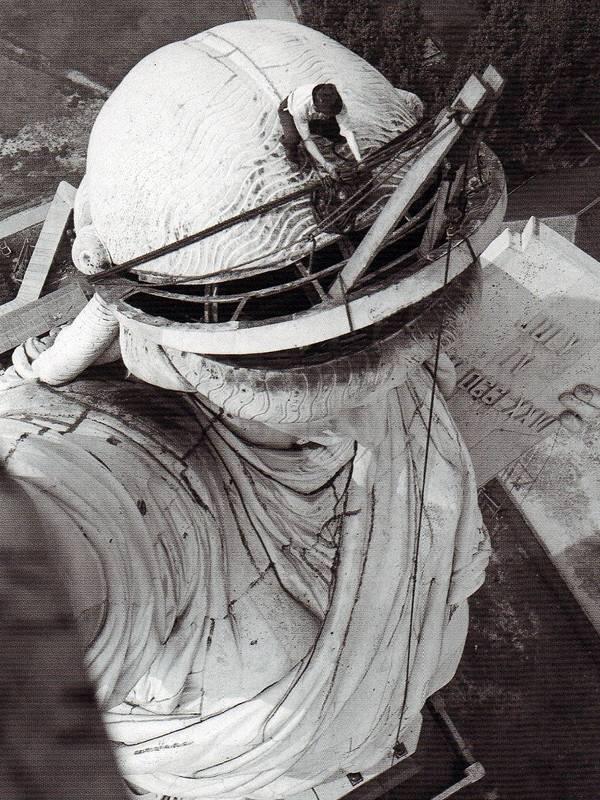 Repair work in 1938