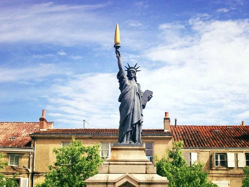 Replica of Poitiers