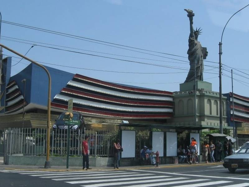 Replica of Lima