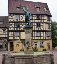 Lazare of Schwendi fountain