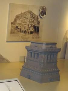 Model of the pedestal