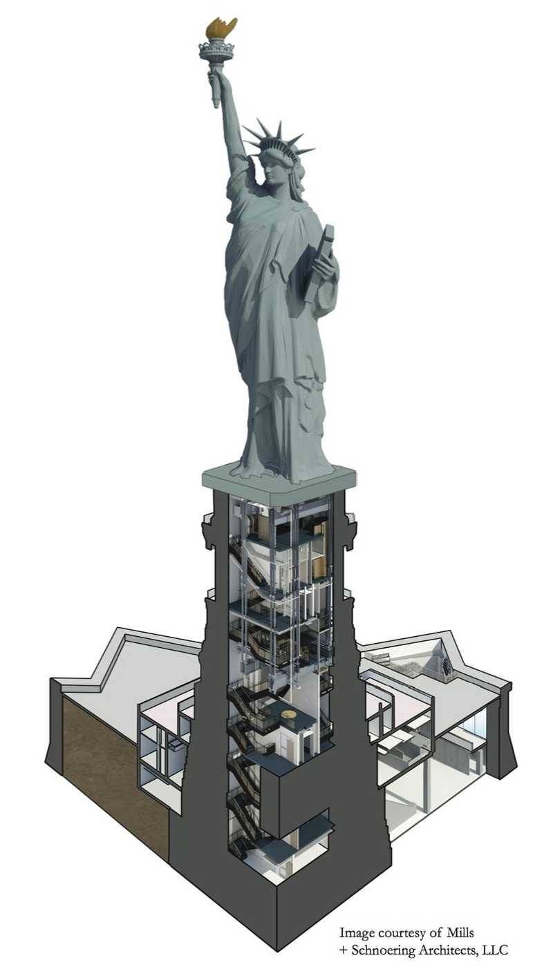 Visit the statue of liberty map of the monument buycottarizona Gallery