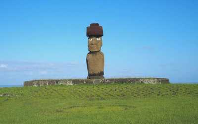 Moais of Easter Island