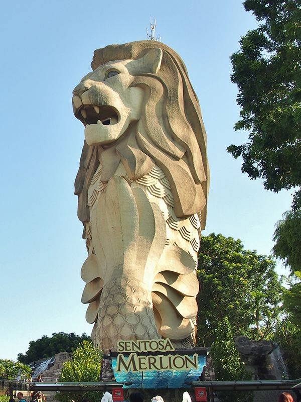 Merlion of Sentosa