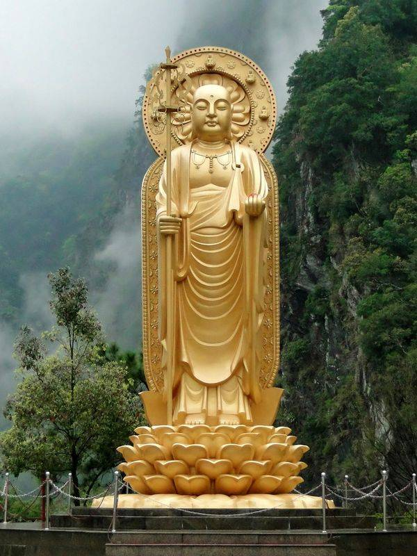 The monk Ksitigarbha