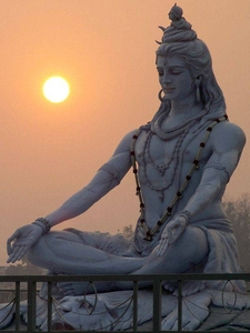 Statue of God Shiva
