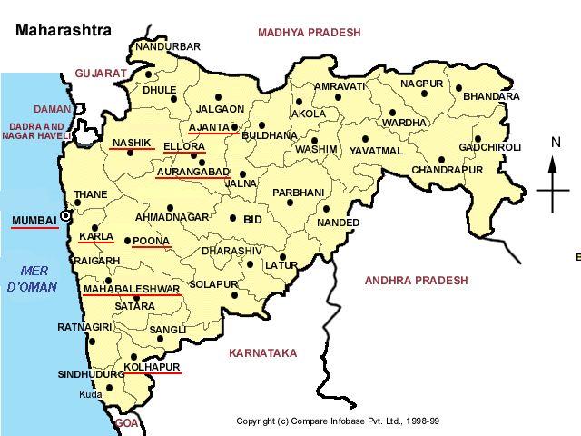 Map Maharashtra